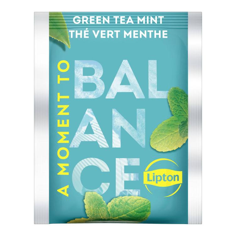 Bilde nr. 2 av 5 - Green Mint (grønn te) 25ps Lipton