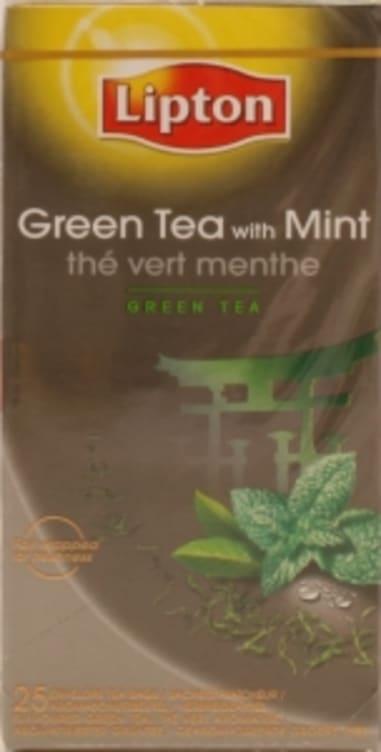 Bilde nr. 4 av 5 - Green Mint (grønn te) 25ps Lipton