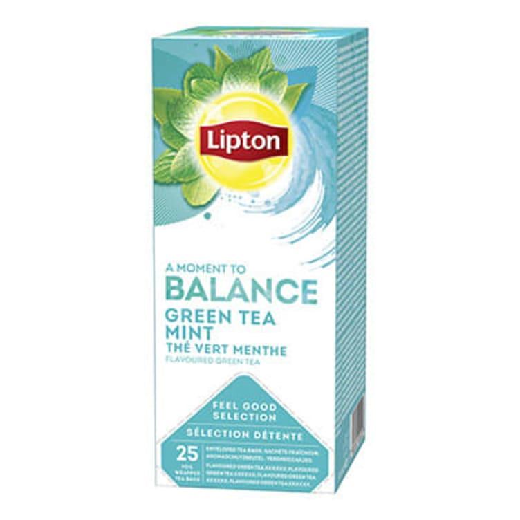 Bilde nr. 1 av 5 - Green Mint (grønn te) 25ps Lipton