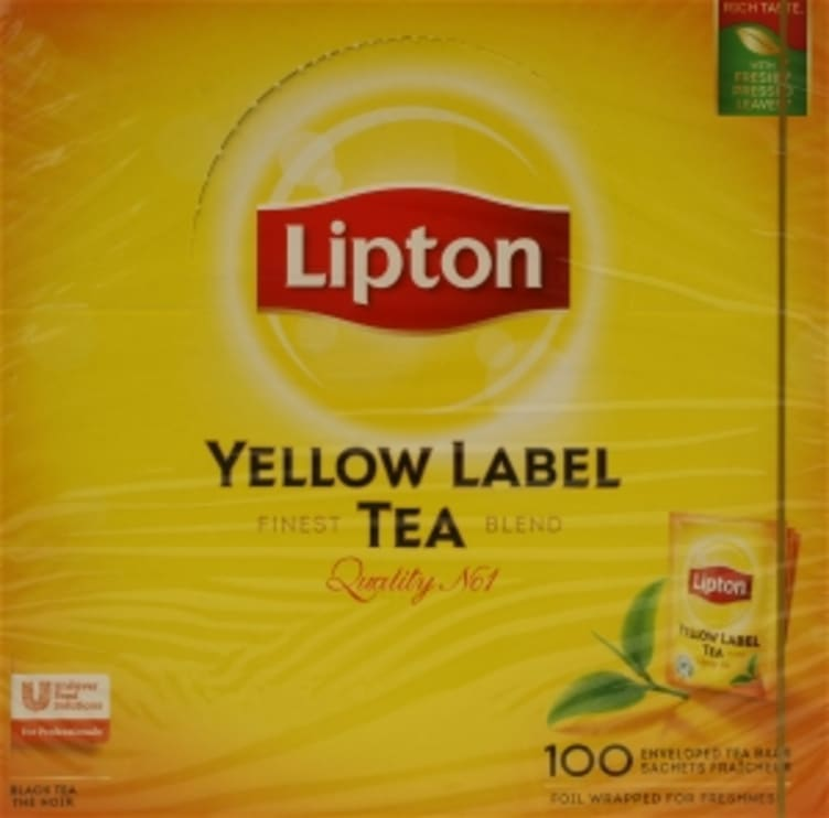 Bilde nr. 4 av 5 - Yellow Label te 100ps Lipton