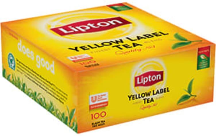Bilde nr. 1 av 5 - Yellow Label te 100ps Lipton