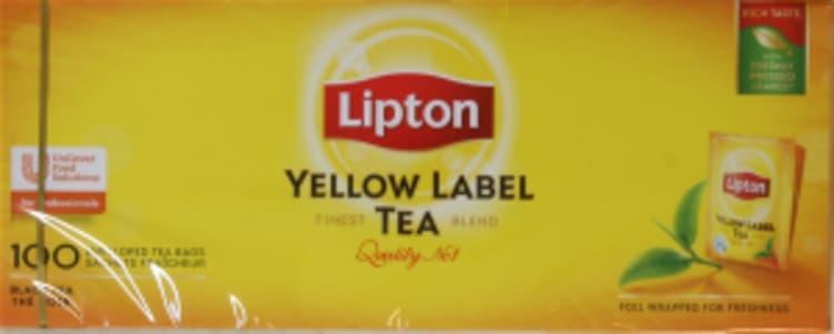 Bilde nr. 3 av 5 - Yellow Label te 100ps Lipton