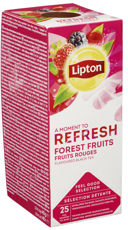 Bilde nr. 4 av 5 - Forest Fruits te 25ps Lipton