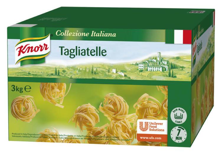 Bilde av Tagliatelle pasta 3kg Knorr