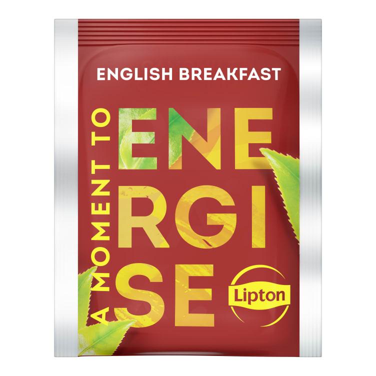 Bilde nr. 2 av 5 - English Breakfast te 25ps Lipton