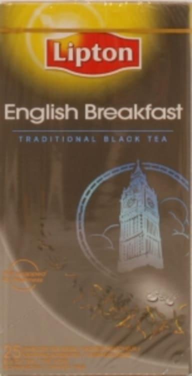 Bilde nr. 4 av 5 - English Breakfast te 25ps Lipton
