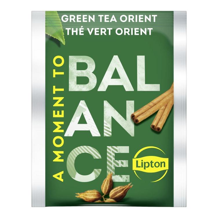 Bilde nr. 2 av 5 - Green Tchae Orient (grønn te) 25ps Lipton