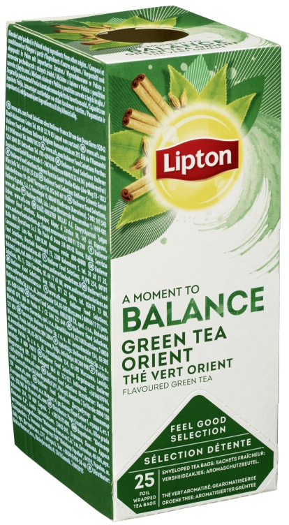 Bilde nr. 4 av 5 - Green Tchae Orient (grønn te) 25ps Lipton