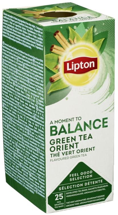Bilde nr. 1 av 5 - Green Tchae Orient (grønn te) 25ps Lipton