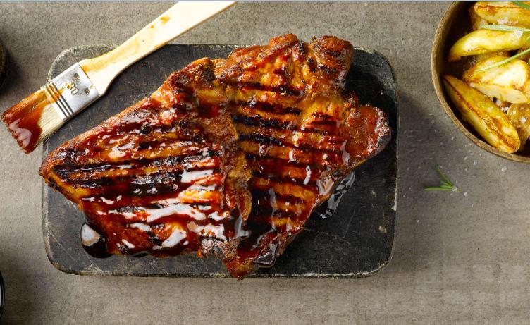 Bilde nr. 2 av 5 - Idun Sweet hickory barbeque saus  1 kg
