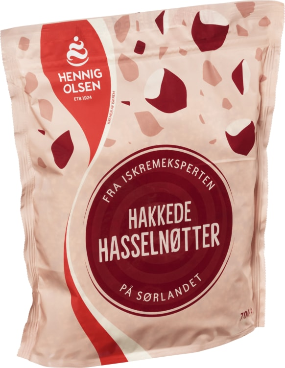 Bilde nr. 1 av 2 - STRØSSEL HAKKEDE HASSELNØTTER 700G HEO