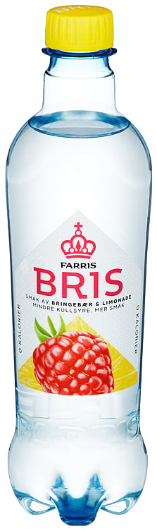 Bilde nr. 1 av 2 - FARRIS BRIS BRINGEBÆR/LIMONADE 0,5L FL