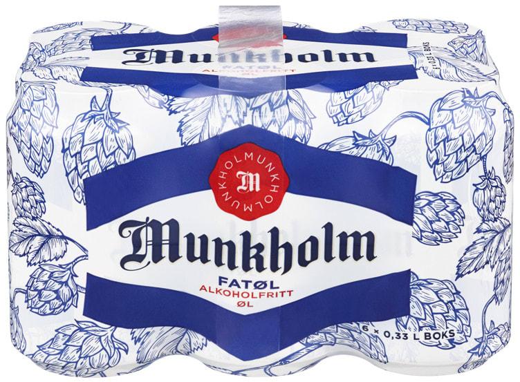 Bilde nr. 1 av 3 - MUNKHOLM FATØL 0,33LX6 BX