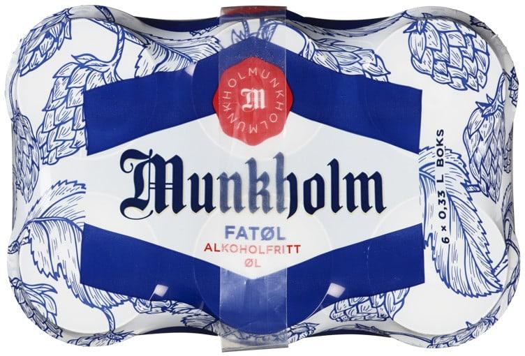 Bilde nr. 2 av 3 - MUNKHOLM FATØL 0,33LX6 BX