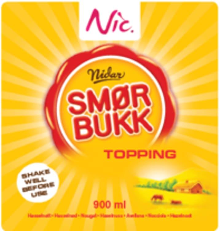 Bilde nr. 1 av 2 - TOPPING SMØRBUKK 0,9L NIC
