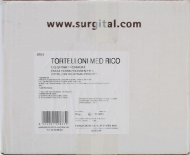 Bilde nr. 4 av 5 - TORTELLONI RICOTTA/SPINAT