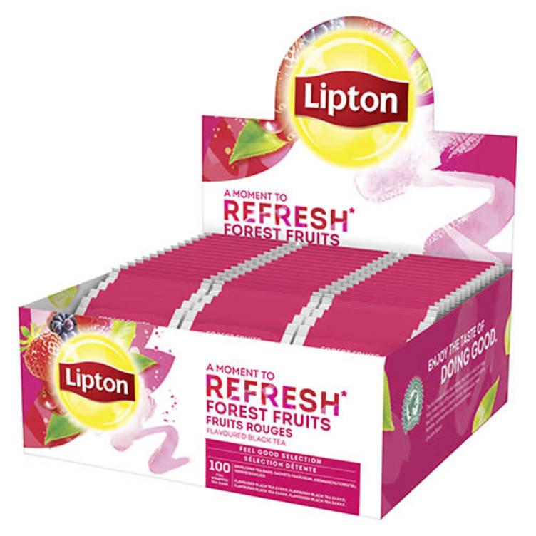 Bilde nr. 1 av 2 - Forest Fruits te 100ps Lipton