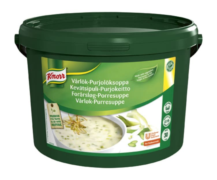 Bilde av Vårløk og Purresuppe pulver 30L Knorr