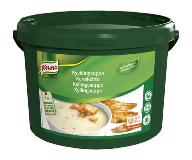 Bilde av Kyllingsuppe Kremet pulver 30L Knorr