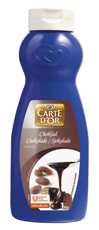 Bilde nr. 1 av 4 - Sjokolade topping (flytende saus) 1kg Carte d'Or