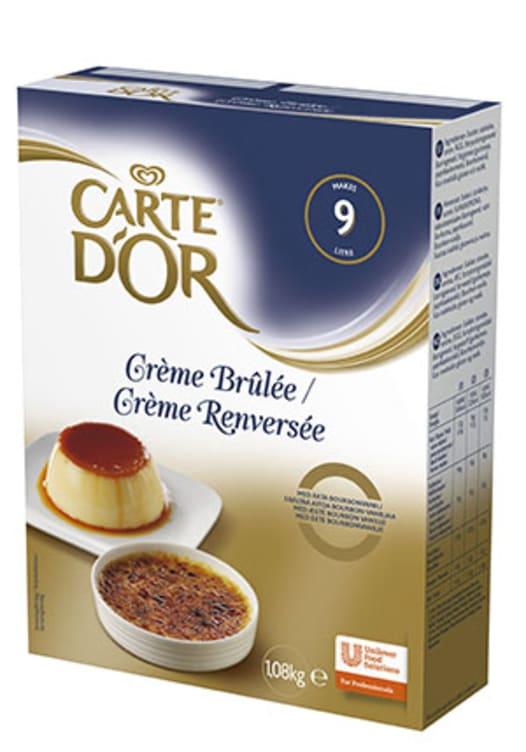 Bilde av Crème Brûlée pulver 9L (90 porsj) Carte d'Or
