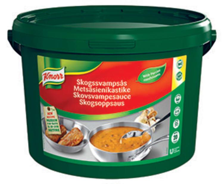 Bilde nr. 1 av 3 - Skogsoppsaus pulver 20L Knorr