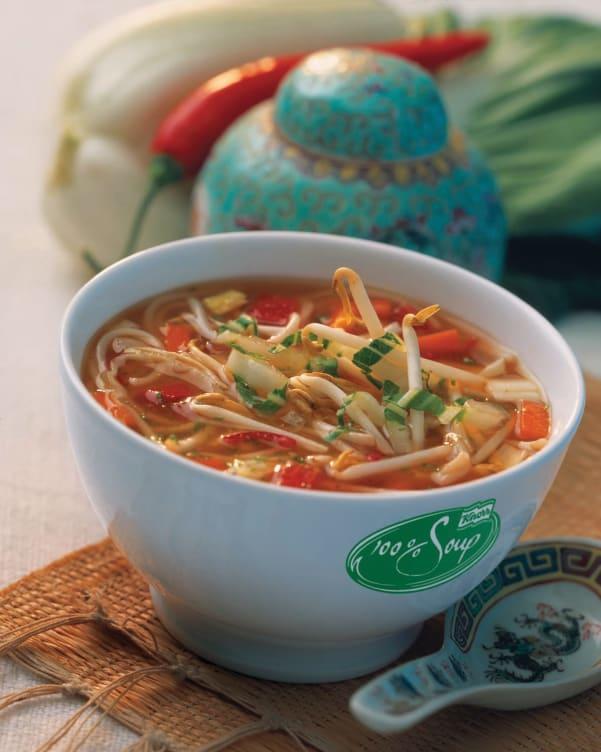 Bilde nr. 1 av 2 - 100% Thai Vegetable Soup serveringsklar 2,4L Knorr