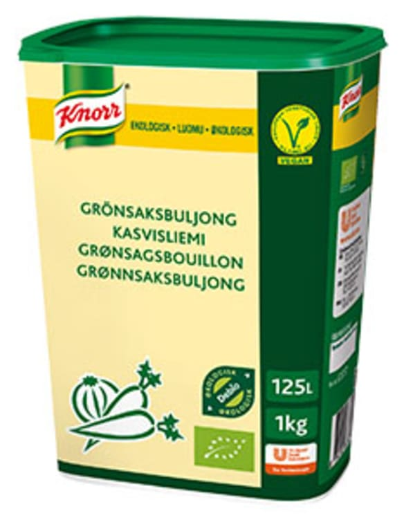 Bilde av GRØNNSAKSBULJONG ØKOL 1KG KNORR