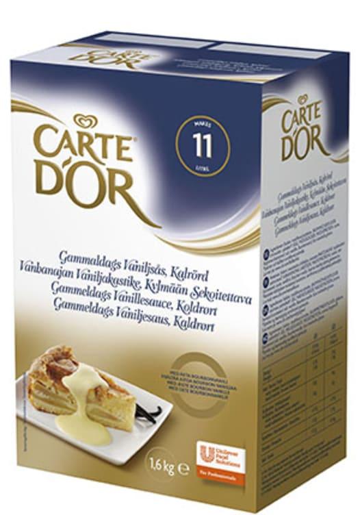 Bilde av Vaniljesaus kaldrørt pulver 11L Carte d'Or