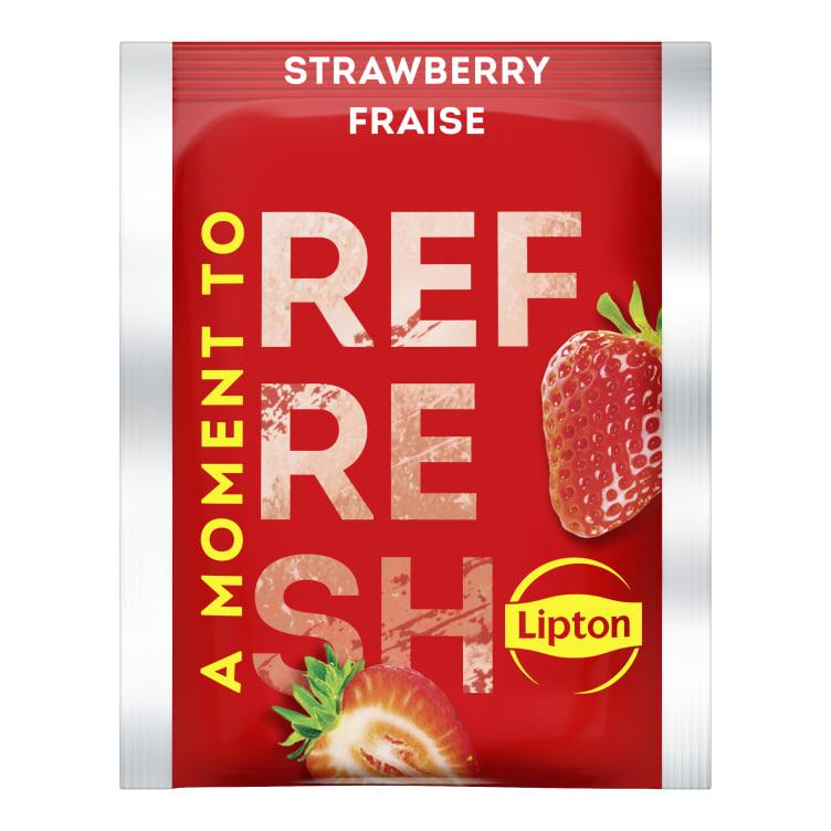 Bilde nr. 2 av 5 - Strawberry (jordbær) te 25ps Lipton