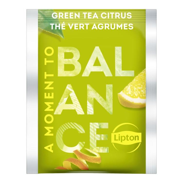 Bilde nr. 2 av 5 - Green Citrus (grønn te sitrus) 25ps Lipton