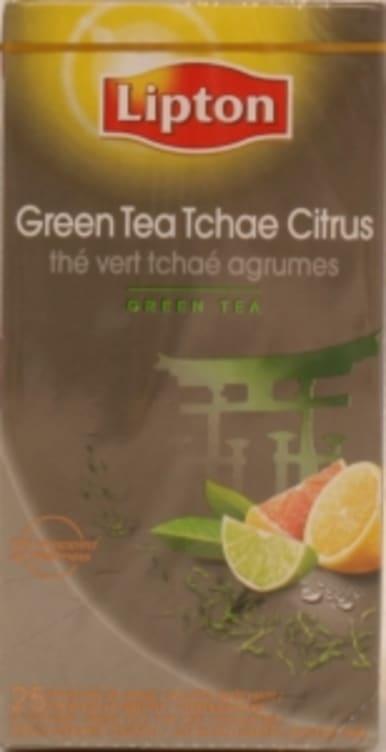 Bilde nr. 4 av 5 - Green Citrus (grønn te sitrus) 25ps Lipton