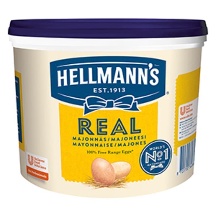 Bilde nr. 1 av 4 - Majones Real 10kg spann Hellmann's
