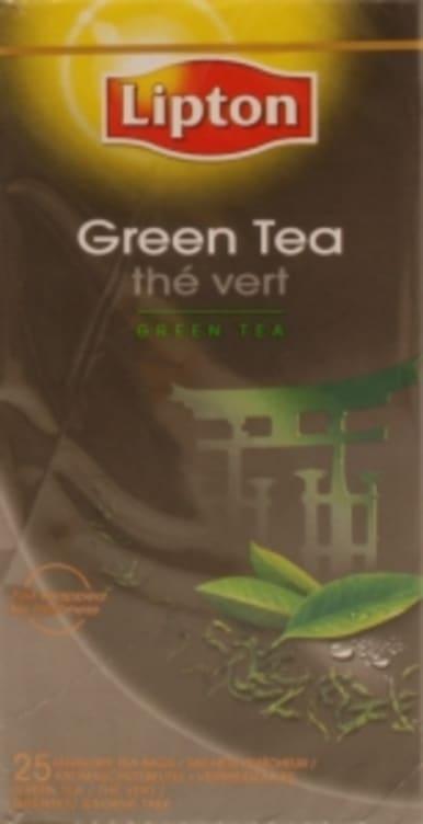 Bilde nr. 4 av 5 - Green (grønn te) 25ps Lipton