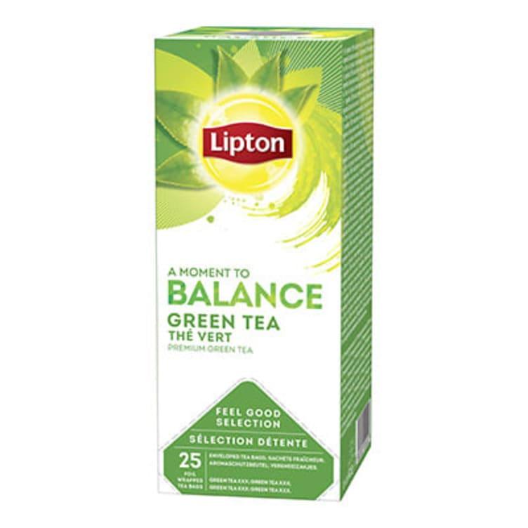 Bilde nr. 1 av 5 - Green (grønn te) 25ps Lipton