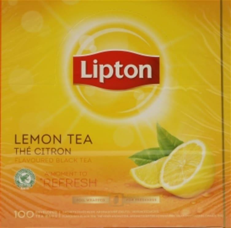 Bilde nr. 4 av 5 - Lemon (sitron) te 100ps Lipton