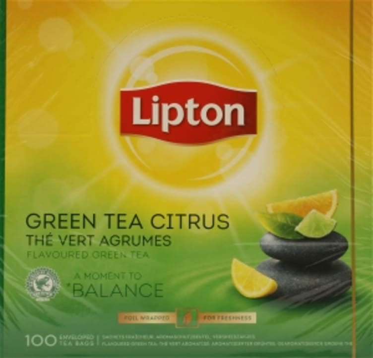 Bilde nr. 4 av 5 - Grønn te Sitrus 100ps Lipton