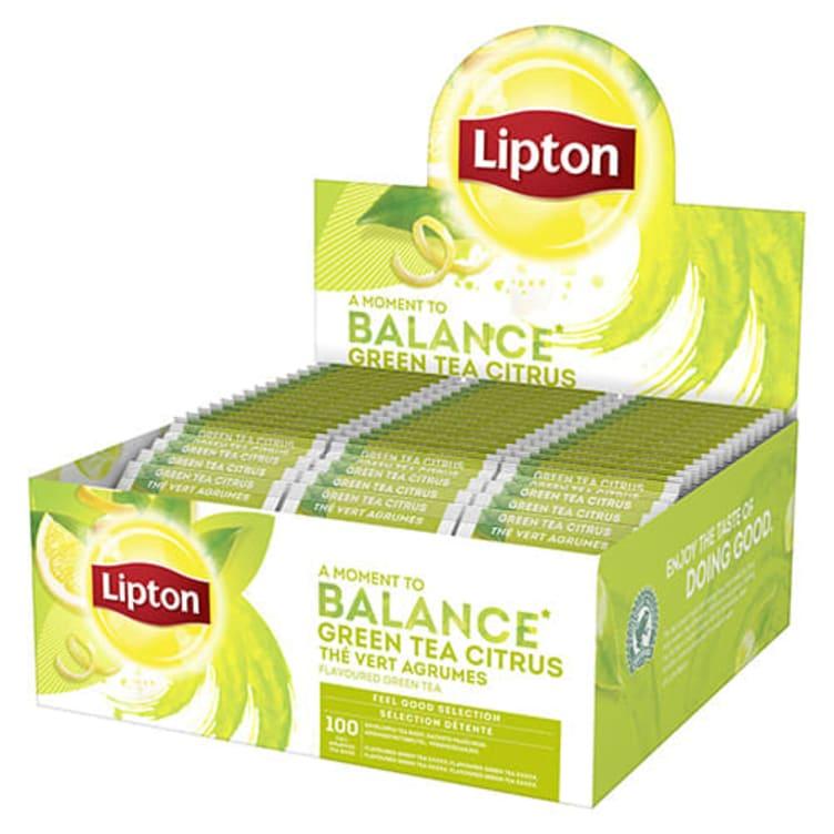 Bilde nr. 1 av 5 - Grønn te Sitrus 100ps Lipton